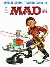 Cover for MAD (EC, 1952 series) #95