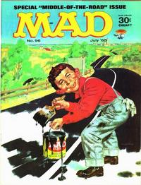Cover Thumbnail for MAD (EC, 1952 series) #96