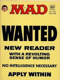 Cover Thumbnail for MAD (EC, 1952 series) #107