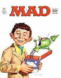 Cover Thumbnail for MAD (EC, 1952 series) #113