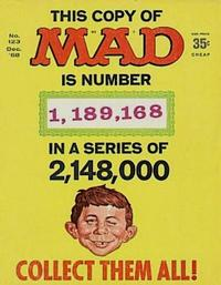 Cover Thumbnail for Mad (EC, 1952 series) #123 [1,189,168 Cover]