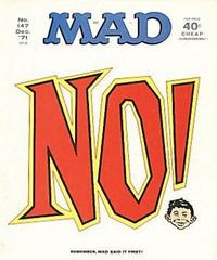 Cover Thumbnail for MAD (EC, 1952 series) #147