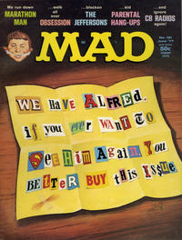 Cover Thumbnail for MAD (EC, 1952 series) #191