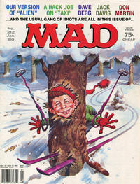 Cover Thumbnail for MAD (EC, 1952 series) #212