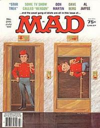 Cover Thumbnail for MAD (EC, 1952 series) #216