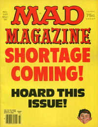 Cover Thumbnail for MAD (EC, 1952 series) #221
