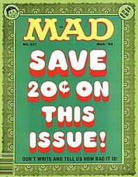 Cover Thumbnail for MAD (EC, 1952 series) #237