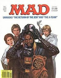 Cover Thumbnail for MAD (EC, 1952 series) #242