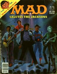 Cover for MAD (EC, 1952 series) #251