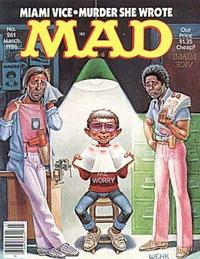 Cover for MAD (EC, 1952 series) #261