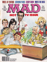 Cover for MAD (EC, 1952 series) #266