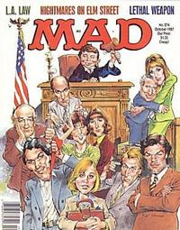 Cover Thumbnail for MAD (EC, 1952 series) #274