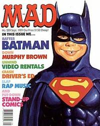 Cover Thumbnail for MAD (EC, 1952 series) #289