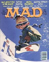 Cover Thumbnail for MAD (EC, 1952 series) #342