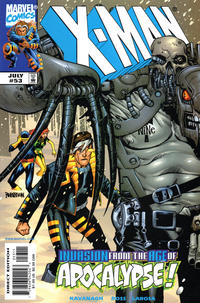 Cover Thumbnail for X-Man (Marvel, 1995 series) #53 [Direct Edition]