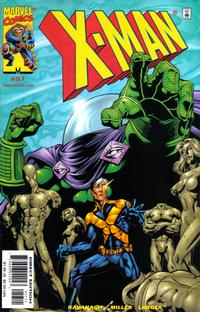 Cover Thumbnail for X-Man (Marvel, 1995 series) #57 [Direct Edition]