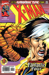 Cover Thumbnail for X-Man (Marvel, 1995 series) #59