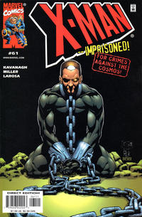 Cover for X-Man (Marvel, 1995 series) #61