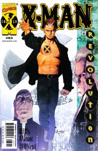 Cover for X-Man (Marvel, 1995 series) #63 [Variant Edition]