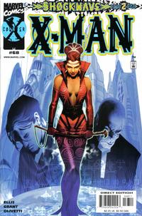 Cover for X-Man (Marvel, 1995 series) #68