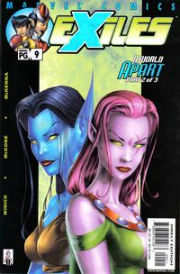 Cover Thumbnail for Exiles (Marvel, 2001 series) #9 [Direct Edition]