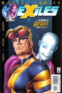 Cover Thumbnail for Exiles (Marvel, 2001 series) #10 [Direct Edition]