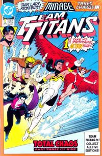 Cover Thumbnail for Team Titans (DC, 1992 series) #1 [Mirage]