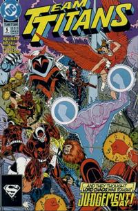 Cover Thumbnail for Team Titans (DC, 1992 series) #5