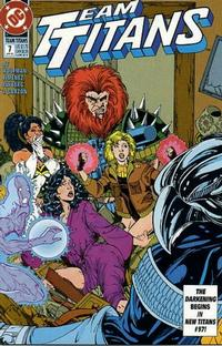 Cover Thumbnail for Team Titans (DC, 1992 series) #7