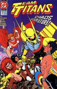 Cover Thumbnail for Team Titans (DC, 1992 series) #12