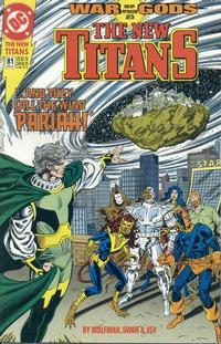 Cover for The New Titans (DC, 1988 series) #81