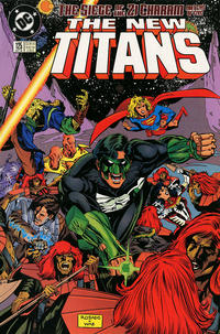 Cover Thumbnail for The New Titans (DC, 1988 series) #125