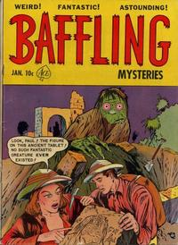 Cover Thumbnail for Baffling Mysteries (Ace Magazines, 1951 series) #6