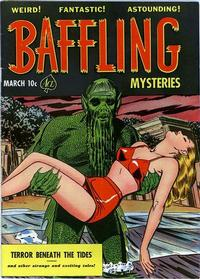 Cover Thumbnail for Baffling Mysteries (Ace Magazines, 1951 series) #7