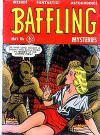 Cover Thumbnail for Baffling Mysteries (Ace Magazines, 1951 series) #8