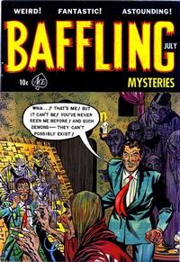 Cover for Baffling Mysteries (Ace Magazines, 1951 series) #16