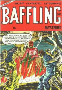 Cover Thumbnail for Baffling Mysteries (Ace Magazines, 1951 series) #17