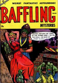 Cover Thumbnail for Baffling Mysteries (Ace Magazines, 1951 series) #20