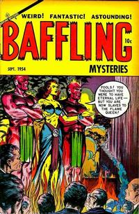 Cover Thumbnail for Baffling Mysteries (Ace Magazines, 1951 series) #22