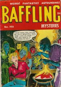 Cover Thumbnail for Baffling Mysteries (Ace Magazines, 1951 series) #23