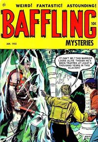 Cover Thumbnail for Baffling Mysteries (Ace Magazines, 1951 series) #24