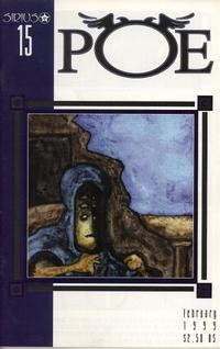 Cover for Poe (SIRIUS Entertainment, 1997 series) #15