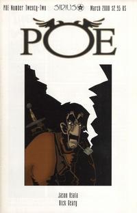 Cover Thumbnail for Poe (SIRIUS Entertainment, 1997 series) #22