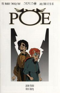 Cover Thumbnail for Poe (SIRIUS Entertainment, 1997 series) #24