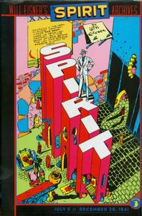 Cover for Will Eisner's The Spirit Archives (DC, 2000 series) #3