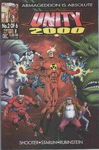 Cover for Unity 2000 (Acclaim / Valiant, 1999 series) #2