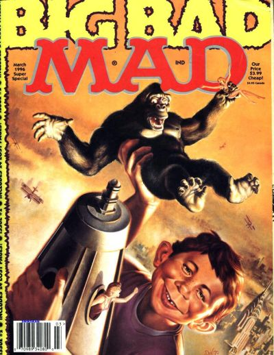 Cover for Mad Special [Mad Super Special] (EC, 1970 series) #111