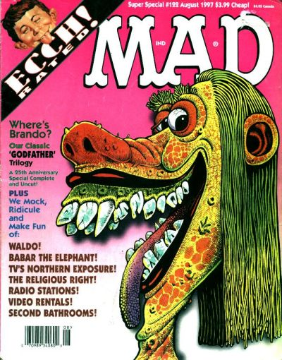 Cover for Mad Special [Mad Super Special] (EC, 1970 series) #122