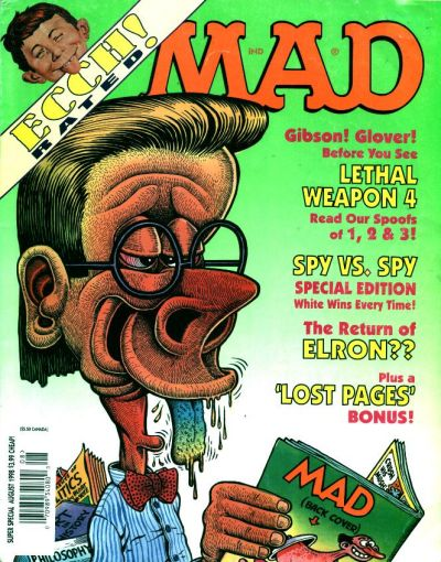 Cover for MAD Special [MAD Super Special] (EC, 1970 series) #130
