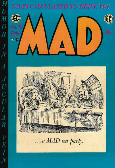 Cover for MAD (EC, 1952 series) #15